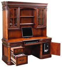 Wood Computer Desk With Hutch by Selecting A Home Office Desk With Hutch Home Design By John