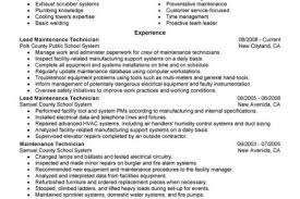 Building Maintenance Resume Sample by Hospital Maintenance Worker Resume Reentrycorps