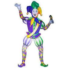 mardi gras jester costume jointed mardi gras jester century novelty