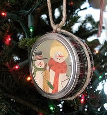 jar lid ornaments crafts