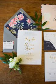 navy and blush wedding invitations gold and navy wedding invitations elizabeth designs the
