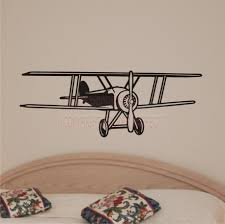Wall Art Designs by Apartments Exciting Interior Room For Bedroom With Black Airplane