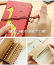 giraffe pattern notebook cute giraffe pattern double folded diary paper notebook manufacture