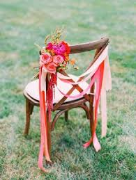 wedding chair 50 creative wedding chair decor with fabric and ribbons deer