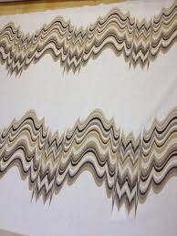 Drapery Fabrics Jonathan Adler Modern Pulsing Waves Extraordinary High End Linen