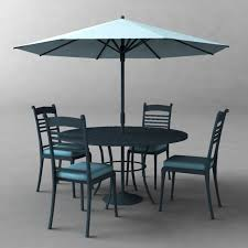 umbrella table and chairs poolside umbrella table chairs 3d model 3d model 3d modeling