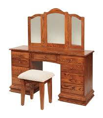 Ornate Vanity Table Classic Clockbase Dressing Vanity Table From Dutchcrafters Amish