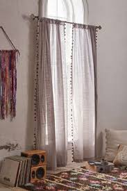Curtains With Pom Poms Decor Pompom Curtain Magical Thinking Pom Pom Curtains And Bedrooms