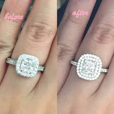 reset wedding ring show me your ring before and after resetting your weddingbee