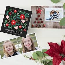 photo insert christmas cards personalised christmas cards vistaprint