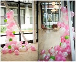 balloon garland balloon garland balloon paper spiral diy forth chicago