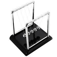 silver black newton s home decor cradle pendulum pool office