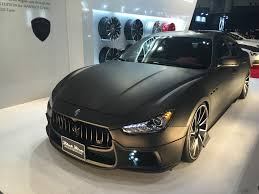 black maserati sedan file maserati ghibli wald black bison edition front tokyo auto