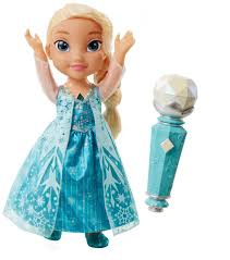 disney frozen sing along elsa doll toys