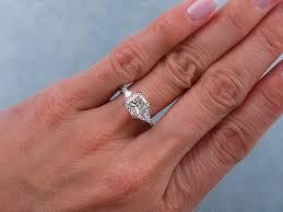 radiant cut engagement ring radiant cut diamond engagement rings wedding promise diamond