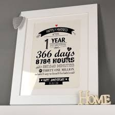 1 year anniversary gift ideas 1 year wedding anniversary gift b76 in images gallery m65