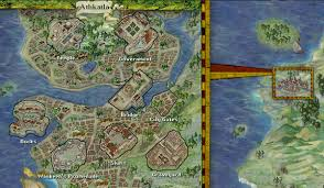 Forgotten Realms Map Image Athkatla Bg2 Jpg Forgotten Realms Wiki Fandom Powered
