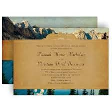 mountain wedding invitations mountain wedding invitations invitations by