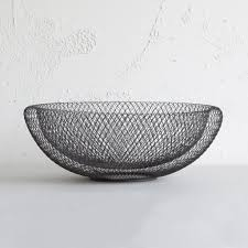 philippi design philippi mesh bowl large living by design