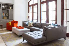 Grey Sofa Living Room Ideas Furniture Elegant Gray Sofa With Eurway And Glass Walls For