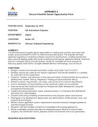 Manufacturing Experience Resume Manual Testing Sample Resume Splixioo