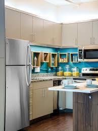 kitchen style small kitchen design ideas bright blue painted