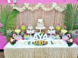 Luau Table Decorations Lovely Hawaiian Table Decoration Theme