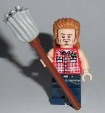 movie 01a lego comedy joe dirt w mop new genuine lego parts spade