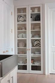 Best  Glass Kitchen Cabinets Ideas On Pinterest Kitchens With - Kitchen glass cabinets