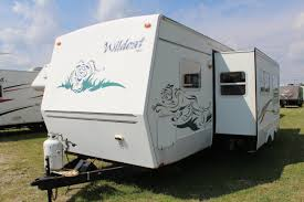 Travel Trailers Rent Houston Tx 2004 Forest River Wildcat Used Travel Trailer Demontrond Rv In