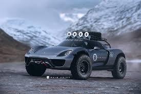 Porsche 918 Body Kit - rain prisk home page