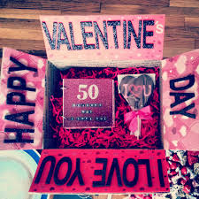 v day gifts for boyfriend regalos sencillos para san valentín doors box and gift