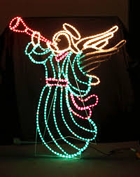 lighted christmas yard angels 12 amusing outdoor lighted christmas angels design ideas qatada
