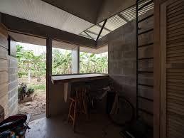 90 sqm affordable house design with unique v shaped ceiling cinder concrete blocks economical tropical house construction