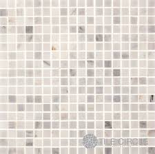 Aspen White Natural Stone Mosaic TileBacksplash  Bathroom Tile - Square tile backsplash