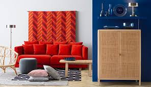 Orange Ikea Sofa by Stockholm Collection Ikea