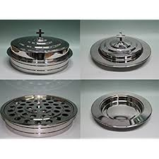 communion plates silvertone stainless steel communion tray set and