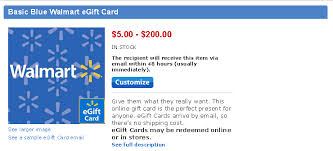 gift card purchase online e gift card walmart