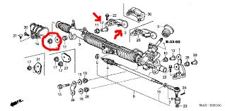 honda civic steering problems steering rack question 7th honda forum the 1 community