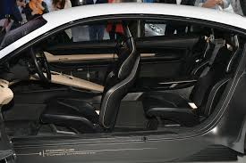 porsche concept interior mission e concept sedan by porsche 7 muscle cars zone