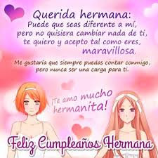 imagenes hermana querida feliz cumpleaños originales mensajes de feliz cumpleaños para una hermana portal de