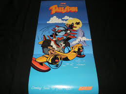talespin talespin poster nintendo power may 1991 never used