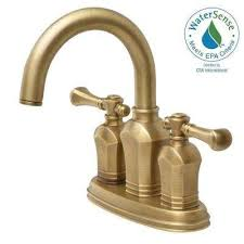 Antique Brass Bathroom Faucets Bath The Home Depot Antique Brass Bathroom Fixtures