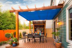 Shade Ideas For Patios Patio Shade Ideas Porch Contemporary With Wood Slat Patio Raised
