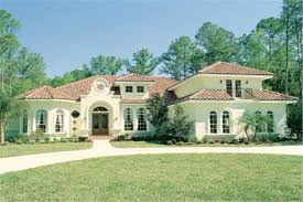 spanish style house plan 190 1009 5 bedrm 3424 sq ft home