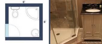 X   Piece Bathroom Design TSC - 6 x 6 bathroom design