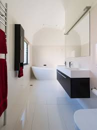 large white tile houzz