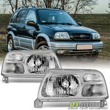 Amado 1999-2003 Suzuki Grand Vitara XL-7 Replacement Headlights  @JE78