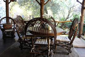Adirondack Rustic Interiors Adirondack Style Lodge Rustic Patio Los Angeles By Madison