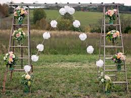 wedding arch ladder 32 diy wedding arbors altars aisles diy party ideas diy